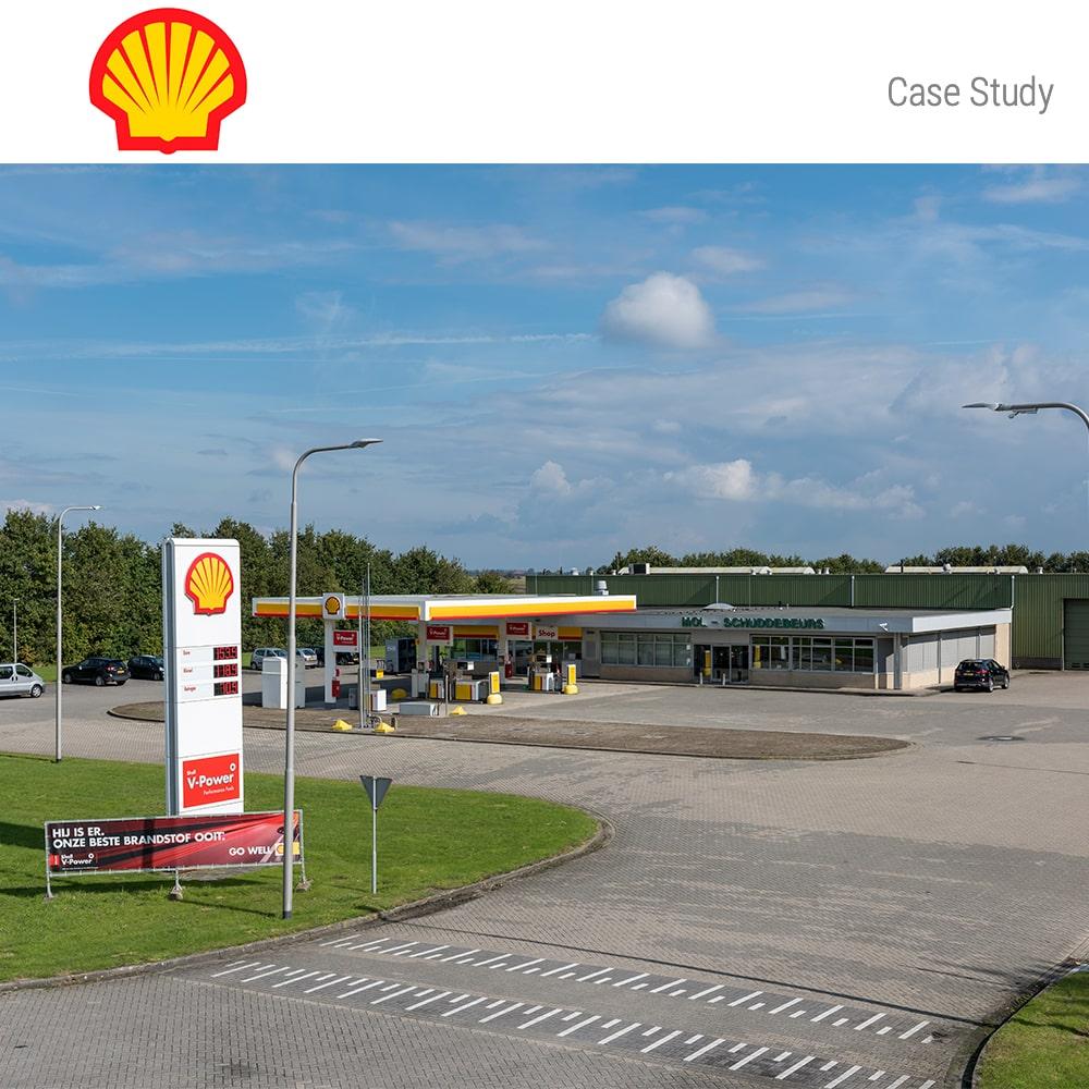 Tankstation Shell De Gouwe NL 1