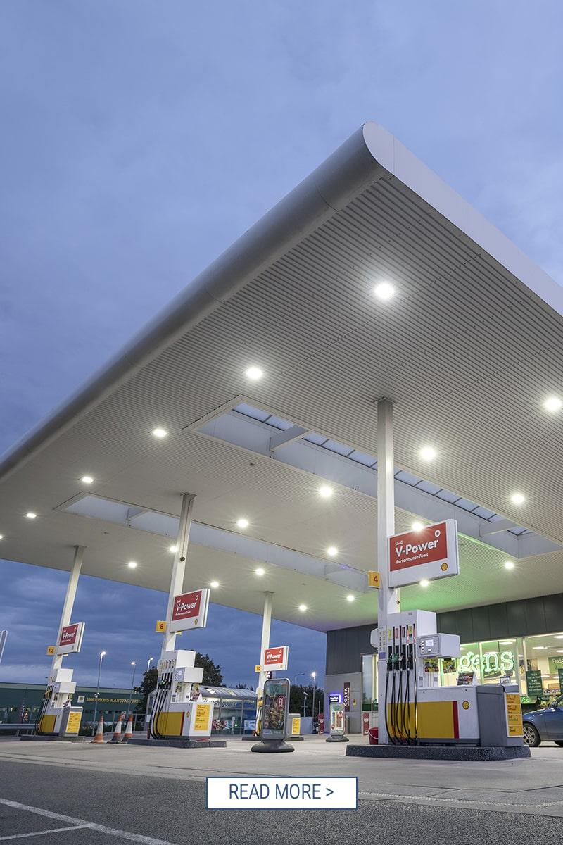 LED Uncer Canopy Illumination LUCI Application Shell